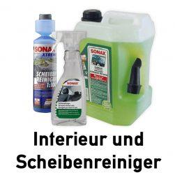 Interieur/Glasreinigung