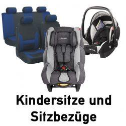 Kindersitze und Sitzbezüge