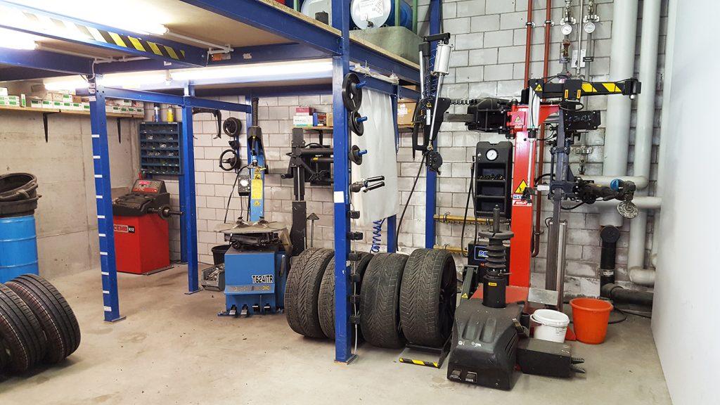 Reifenwechsel in unserer Reifenstation